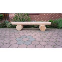 Gartenbank ohne Rücken