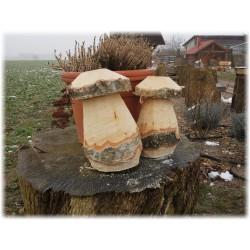 Gartenpilz,Holzpilz.Holzdeko.